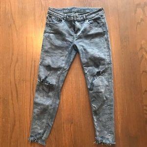 Zara camo jeans
